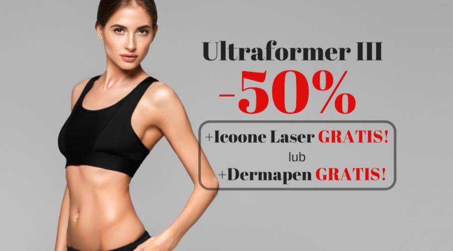 ULTRAFORMER III – PROMOCJA 50% + gratisowe zabiegi!